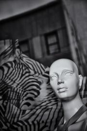 Andy Fritz Bald Mannequin Pigmented Inkjet Print 2015 $150