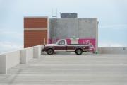 Mark Bennett UT Med Ctr from Parking Garage 21 August 2013 from the series America 21 Digital C-Print 2015 $1800