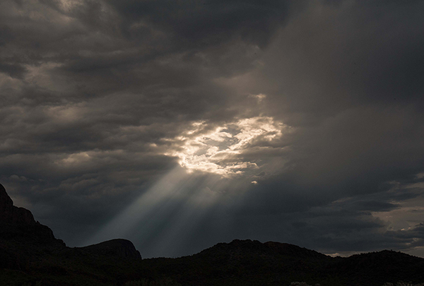 Hole in the sky, Tucson Mountains, 2014 600px