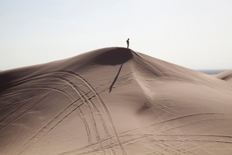 Man on Dune, William LeGoullon